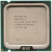 Процессор Pentium D 915